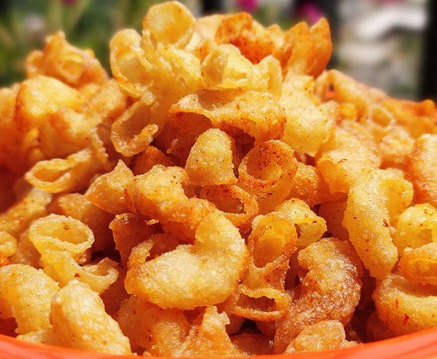 Crispy Macaroni Snacks