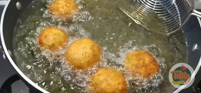 Potato Cheese Balls step 10