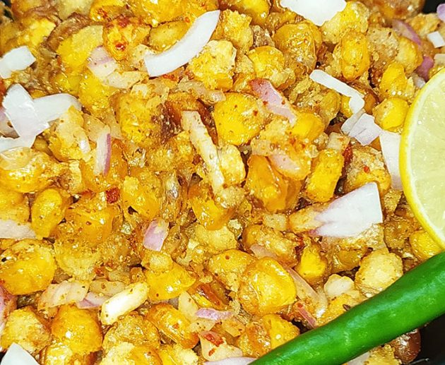 corn chaat featured