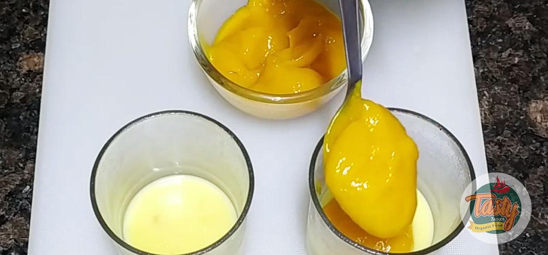 mango custard step 3