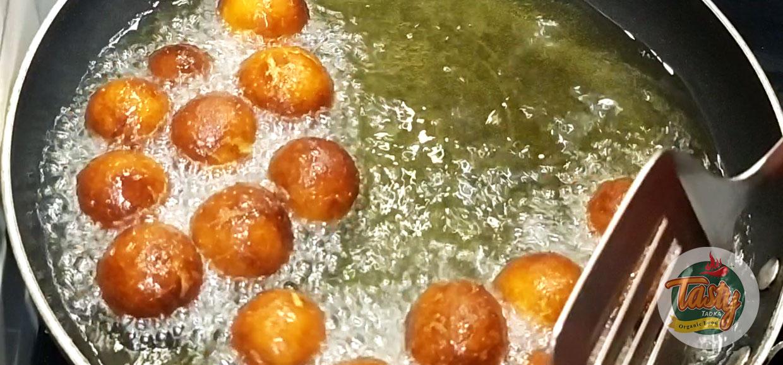 bread gulab jamun step 10