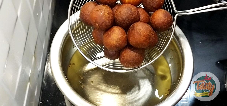bread gulab jamun step 11