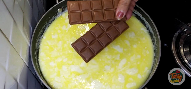 chocolate ice cream steps 3