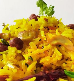 Easy and Quick 5 Mins South Indian Lemon Rice Recipe
