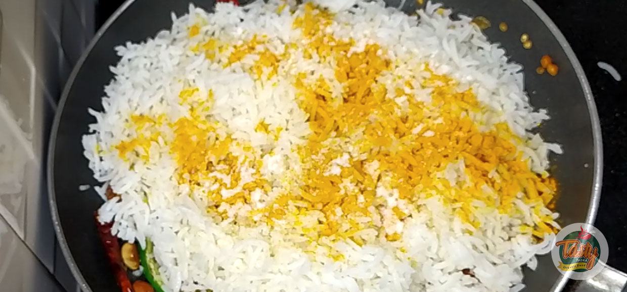 lemon rice steps 5