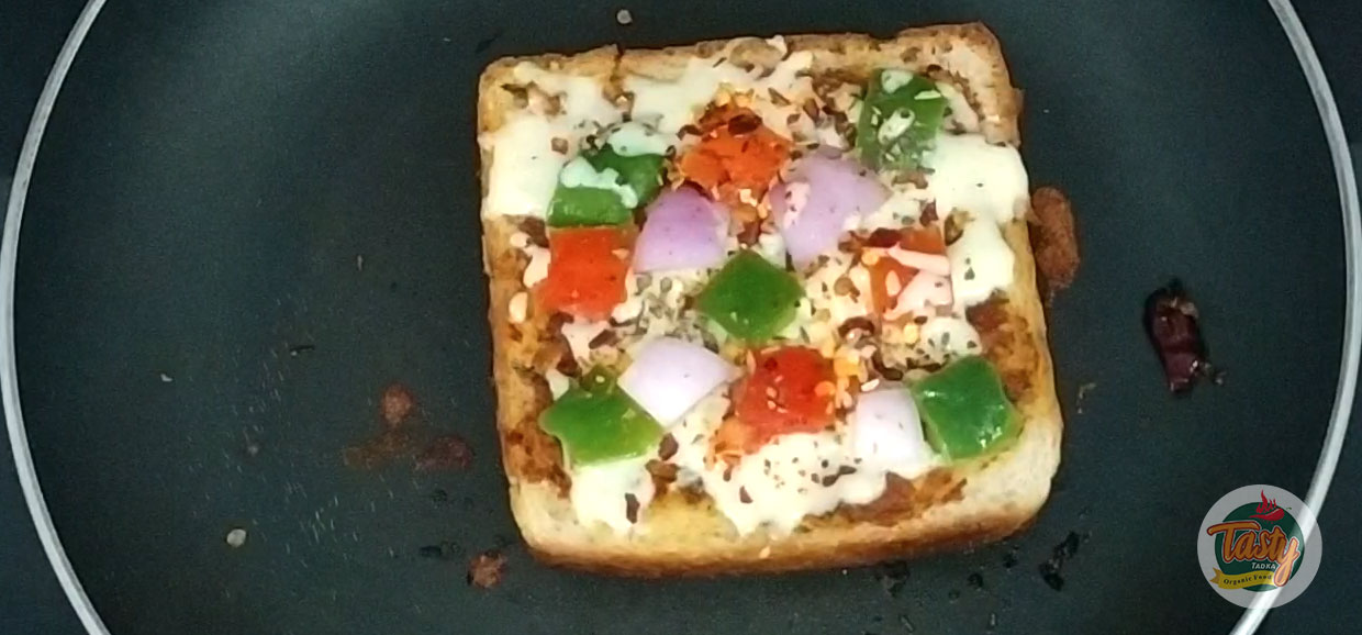 galric pizza bread step 5
