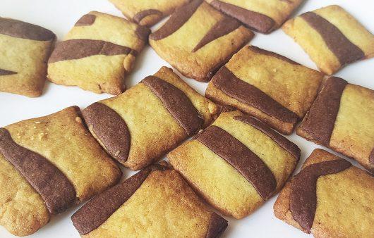 Zebra Cookies